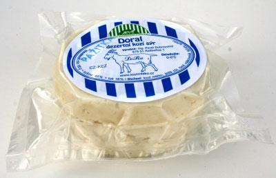 Kozí sýr Doral s příchutí pažitky