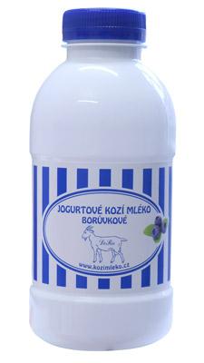 Jogurtové mléko borůvka