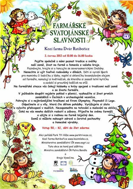 Farmářské Svatojánské slavnosti 2012
